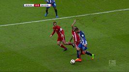 Sestřih zápasu Hertha Berlín - Bayern Mnichov
