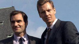 Legendární Federer je v Praze