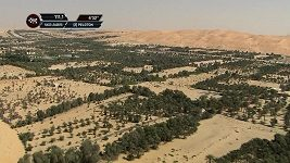 První etapa závodu v Abú Zabí