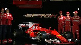 Ferrari představilo monopost pro sezónu 2017