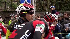 Van Avermaet obhájil vítězství v Omloop Het Nieuwsblad, opět porazil Sagana