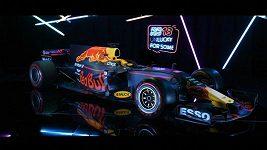 Prezentace monopostu Red Bull na sezónu 2017