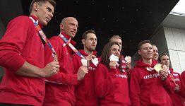 Návrat atletů z úspěšného HME