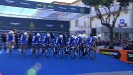 Štybar začal Tirreno druhým místem