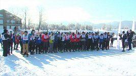 200 běžců z 32 zemí světa se zúčastnilo maratonu na zamrzlém Bajkalu