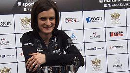 Martina Sáblíková po náročné sezoně
