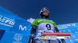 Ester Ledecká ovládla na MS obří slalom