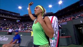 Jelena Vesninová v semifinále zdolala Kristinu Mladenovicovou 6:3, 6:4.