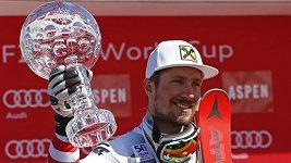 Vítězná jízda Marcela Hirschera v obřím slalomu v Aspenu