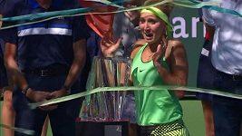 Jelenu Vesninovou vyděsily konfety