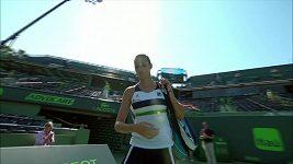Karolína Plíšková porazila v Miami americkou kvalifikantku Madison Brengleovou 6:1, 6:3.