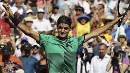 Roger Federer v Miami vyřadil Del Potra