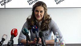 Šárka Strachová oznámila konec kariéry