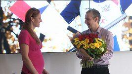 Veslařka Topinková je těhotná