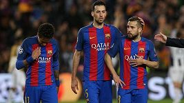 Sestřih čtvrtfinále LM Barcelona - Juventus