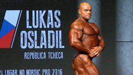 Kulturista Lukáš Osladil vyhrál Arnold Classic South America v Brazílii