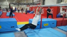 Olympijský medailista učil svého otce gymnastiku