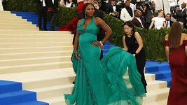 Těhotná Serena Williams