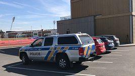 Policie v sídle fotbalové asociace