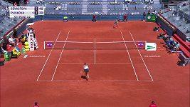Sestřih utkání Plíšková - Sevastovová v Madridu