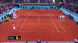 Tomáš Berdych prohrál v Madridu s Alexanderem Zverevem