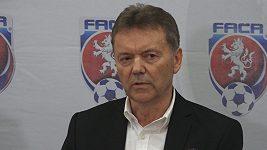 Berbr ani Pelta nebudou kandidovat na předsedu FAČR