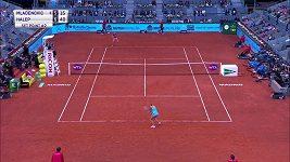 Rumunská tenistka Simona Halepová obhájila loňský titul na turnaji v Madridu