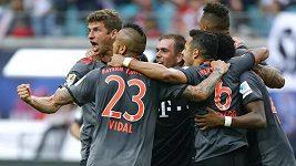 V duelu Lipska s Bayernem padlo devět branek