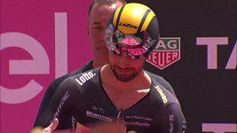 Belgický cyklista Victor Campanaerts pozval dívku svých snů na rande před startem časovky na Giru
