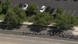 Čtvrtou etapu cyklistického etapového závodu Kolem Kalifornie ovládl ve spurtu Huffman