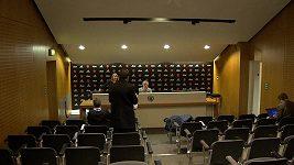 Trenér Manchesteru United José Mourinho a nejrychlejší tisková konference na světě