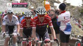 Giro d´Italia - 16. etapa, Dumoulin ve strouze