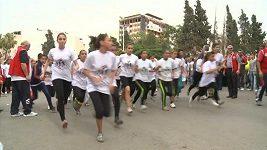 Ve válkou zničeném syrském Homsu se konal maratón