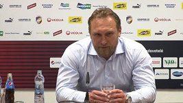 Trenér plzeňských fotbalistů Zdeněk Bečka