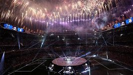 Oslavy Realu Madrid na stadiónu