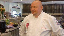 Kuchař fotbalové reprezentace Rudolf Juriga