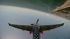 Petr Kopfstein při závodu RB Air Race v Japonsku
