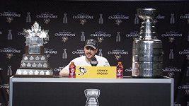 Sidney Crosby a jeho první reakce po zisku Stanley Cupu.