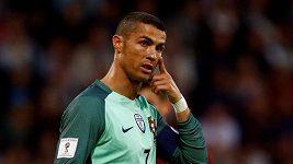 Ronaldo při tréninku