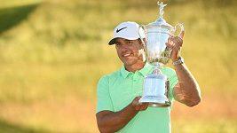 Koepka vyhrál poprvé v kariéře golfové US Open