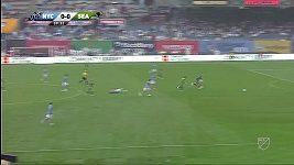 David Villa góly střílet nezapomněl