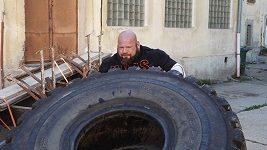 Strongman Čestmír Šíma hlásí další pokus o rekord