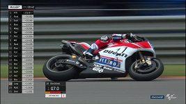 Trénink na Velkou cenu Německa silničních motocyklů