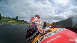 Márquez vyhrál kvalifikaci MotoGP na Velkou cenu Německa