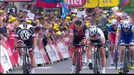 Sagan a jeho vítězství ve 3. etapě Tour de France