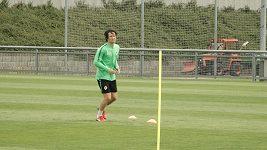 Tomáš Rosický a jeho trénink s míčem