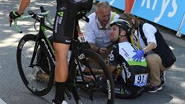 Dojezd 4. etapy Tour de France
