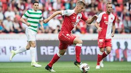 Slavia se v přípravě utkala se slavným Celtikem Glasgow
