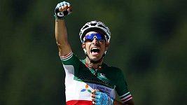 Fabio Aru se stal vítězem 5. etapy 104. ročníku Tour de France