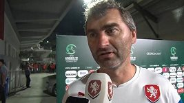 Trenér Suchopárek hodnotí zápas s Gruziíí